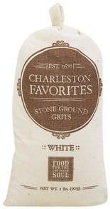 Charleston Favorites Grits Stone Ground, White