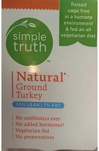 Simple Truth Natural Ground Turkey