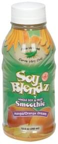 Soy Blendz Smoothie Whole Soy and Fruit, Mango/Orange Dream