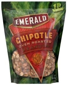Emerald Oven Roasted Peanuts Chipotle