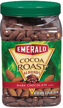 Emerald Almonds Cocoa Roast Dark Chocolate