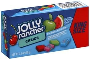 Jolly Rancher Chews Original Flavors, King Size