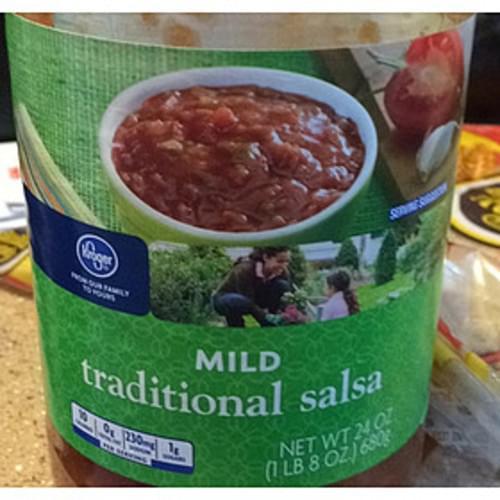 Kroger Mild Traditional Salsa - 31 g