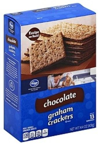 Kroger Chocolate Graham Crackers - 14.4 oz