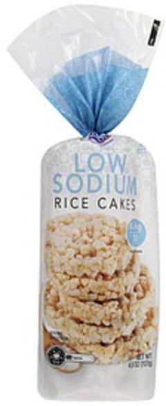 Kroger Rice Cakes Low Sodium