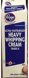 Kroger Heavy Whipping Cream