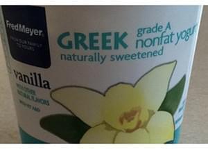 Fred Meyer Vanilla Greek Yogurt