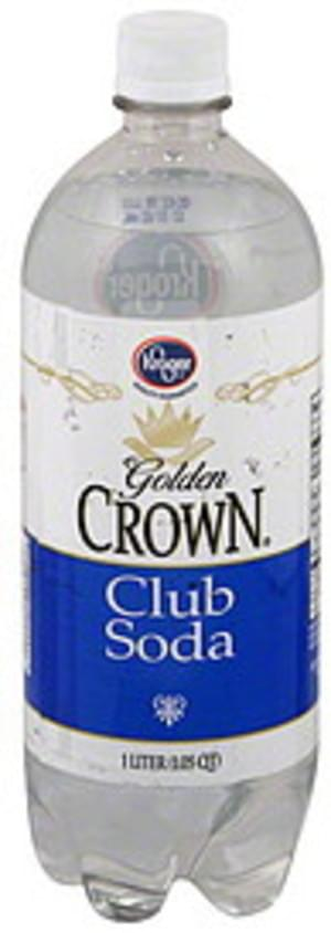 Kroger Club Soda - 1 l