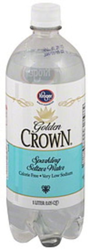 Kroger Sparkling Seltzer Water - 1 l