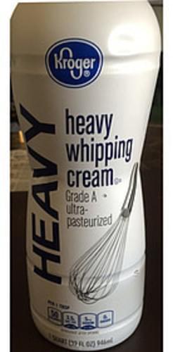 Kroger Heavy Whipping Cream - 15 ml