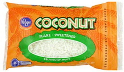Kroger Coconut Sweetened