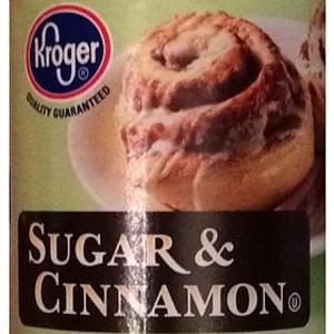 Kroger Sugar & Cinnamon