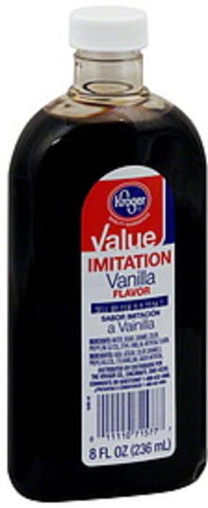 Kroger Imitation Vanilla Flavor - 8 oz