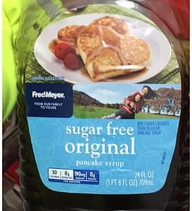 FredMeyer Pancake Syrup Sugar Free Original