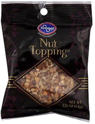 Kroger Nut Topping - 2.25 oz