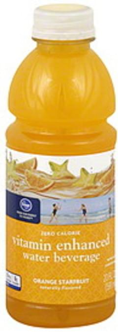 Kroger Water Beverage Vitamin Enhanced, Orange Starfruit
