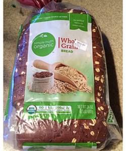 Simple Truth Organic Whole Grain Bread