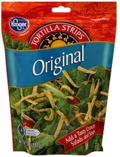 Kroger Tortilla Strips Original