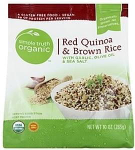 Simple Truth Organic Red Quinoa & Brown Rice