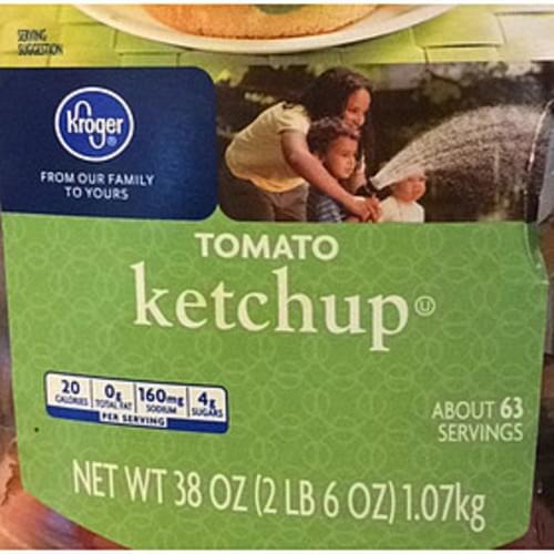 Kroger Tomato Ketchup - 17 g