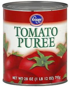 Kroger Tomato Puree