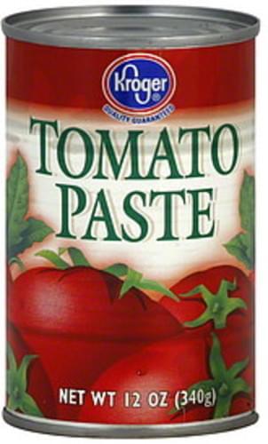 Kroger Tomato Paste - 12 oz