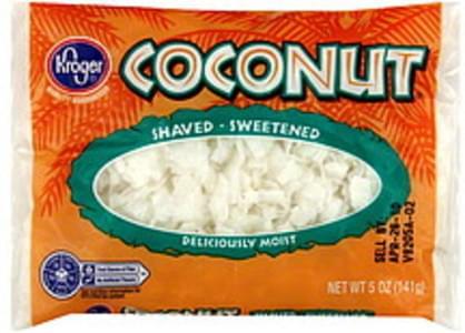 Kroger Coconut Shaved