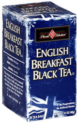 Private Selection English Breakfast Black Tea - 20 ea