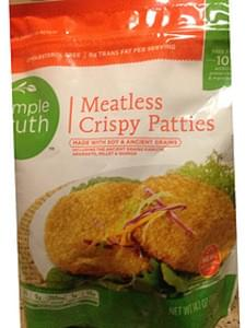 Simple Truth Patties Meatless Crispy
