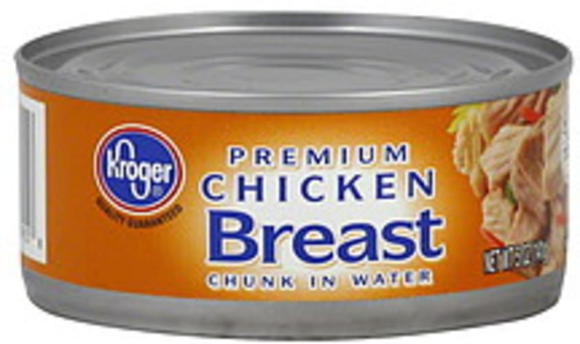 Kroger Premium, Chunk in Water Chicken Breast - 5 oz
