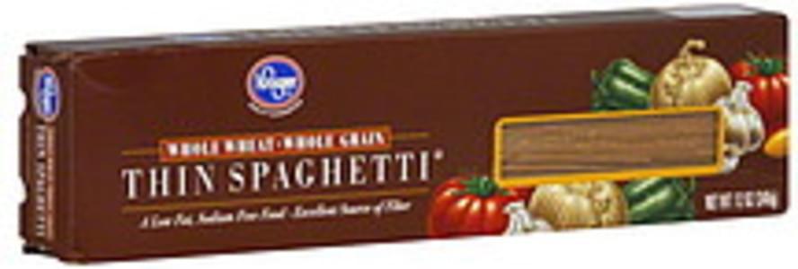 Kroger Spaghetti Thin