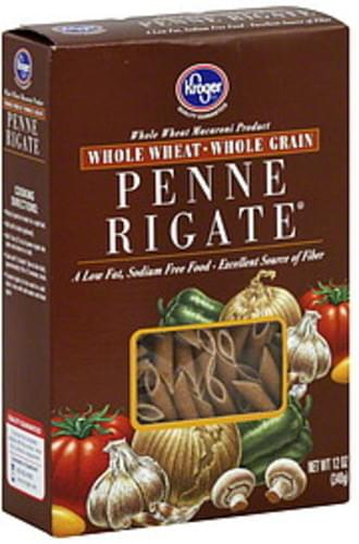 Kroger Penne Rigate - 12 oz