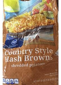 Kroger Country style Hash Browns