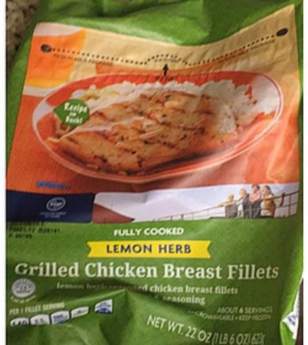 Kroger Grilled Chicken Breast Fillets - 112 g