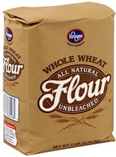 Kroger Flour Whole Wheat