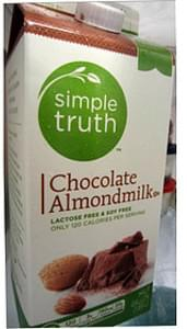 Simple Truth Chocolate Almond Milk