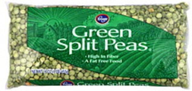 Kroger Split Peas Green