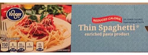 Kroger Thin Spaghetti - 56 g