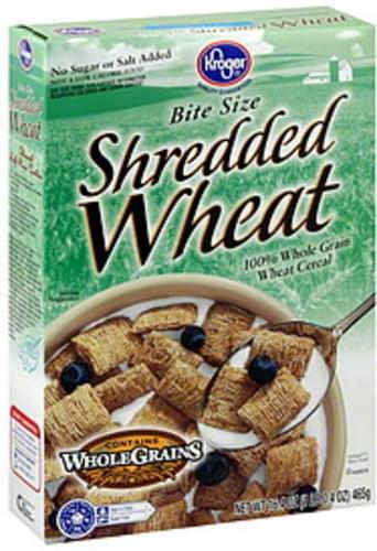 Kroger Shredded Wheat Cereal - 16.4 oz