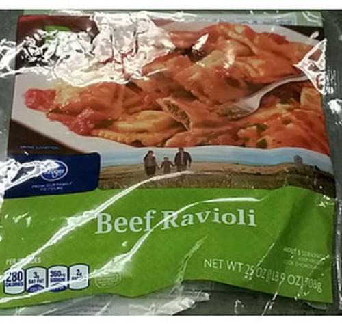 Kroger Beef Ravioli - 145 g
