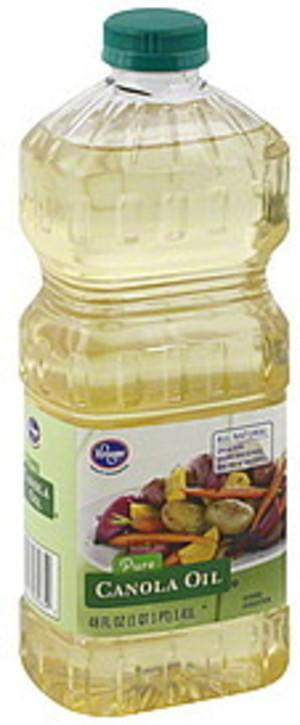 Kroger Pure Canola Oil - 48 oz