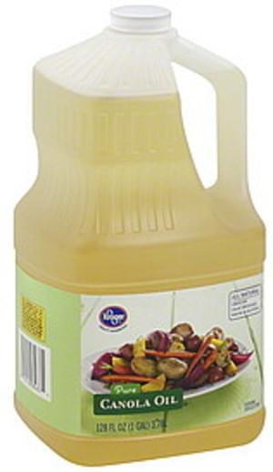 Kroger Pure Canola Oil - 128 oz