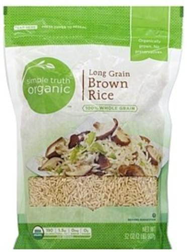 Simple Truth Organic Long Grain Brown Rice - 32 oz