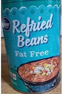 Kroger Fat Free Refried Beans