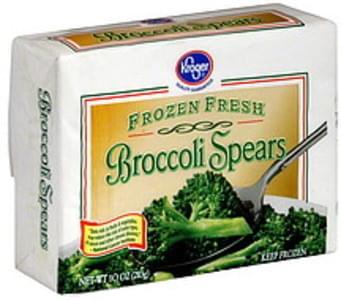 Kroger Broccoli Spears