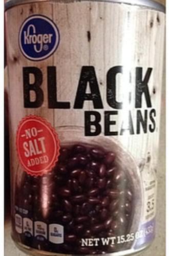Kroger Black Beans - 130 g
