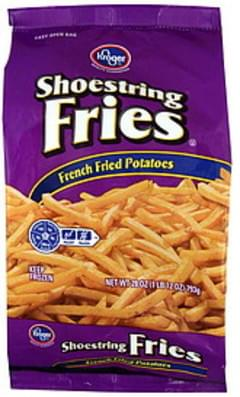 Kroger Potatoes French Fried, Shoestring Fries