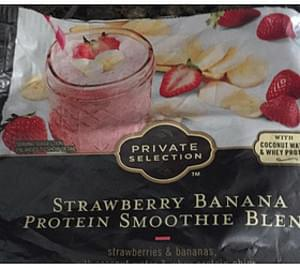 Private Selection Strawberry Banana Protein Smoothie Blend