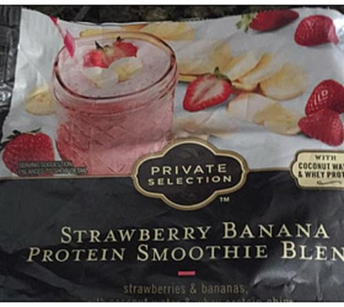 Private Selection Strawberry Banana Protein Smoothie Blend - 113 g
