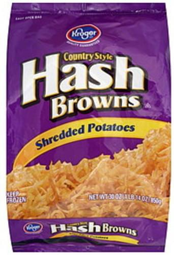 Kroger Country Style Hash Browns - 30 oz